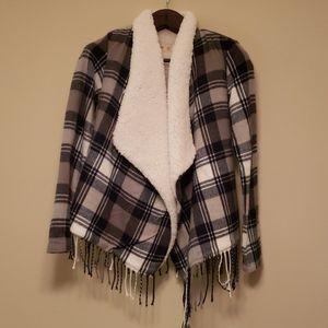 HOLLISTER flannel jacket XS. NWOT.